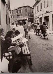Bar Ferrara anni '70